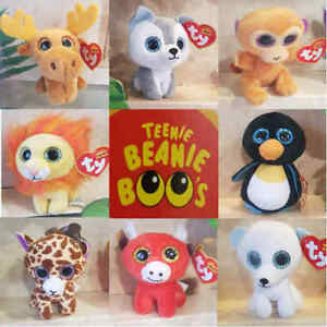 McDonalds Happy Meal Toy 2017 TY Teenie Beanie Boos Baby Animal Toys ... 34983ae1ed6