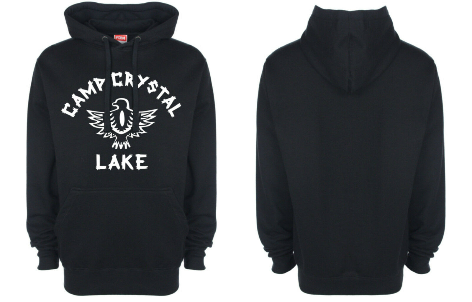 Camp Crystal Lake, Hoodie, Friday the 13th, Horror, Movie, Retro, Costume, New