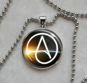 Atheist symbol atheism agnostic free thinker skeptic pendant image is loading atheist symbol atheism agnostic free thinker skeptic pendant aloadofball Gallery