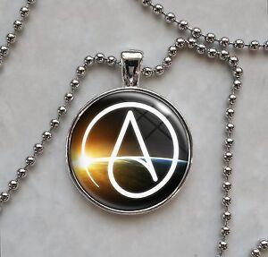 Atheist symbol atheism agnostic free thinker skeptic pendant image is loading atheist symbol atheism agnostic free thinker skeptic pendant aloadofball Choice Image