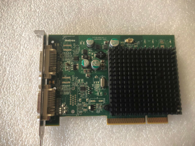 MATROX PARHELIA 8X DRIVERS UPDATE