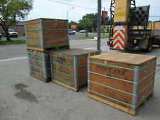 Heat Treated Shipping Or Storage Containers Boxes Wood Crates Heavy Duty