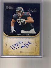 2011 Playoff National Treasures JJ J.J. Watt Auto Autograph #14/99