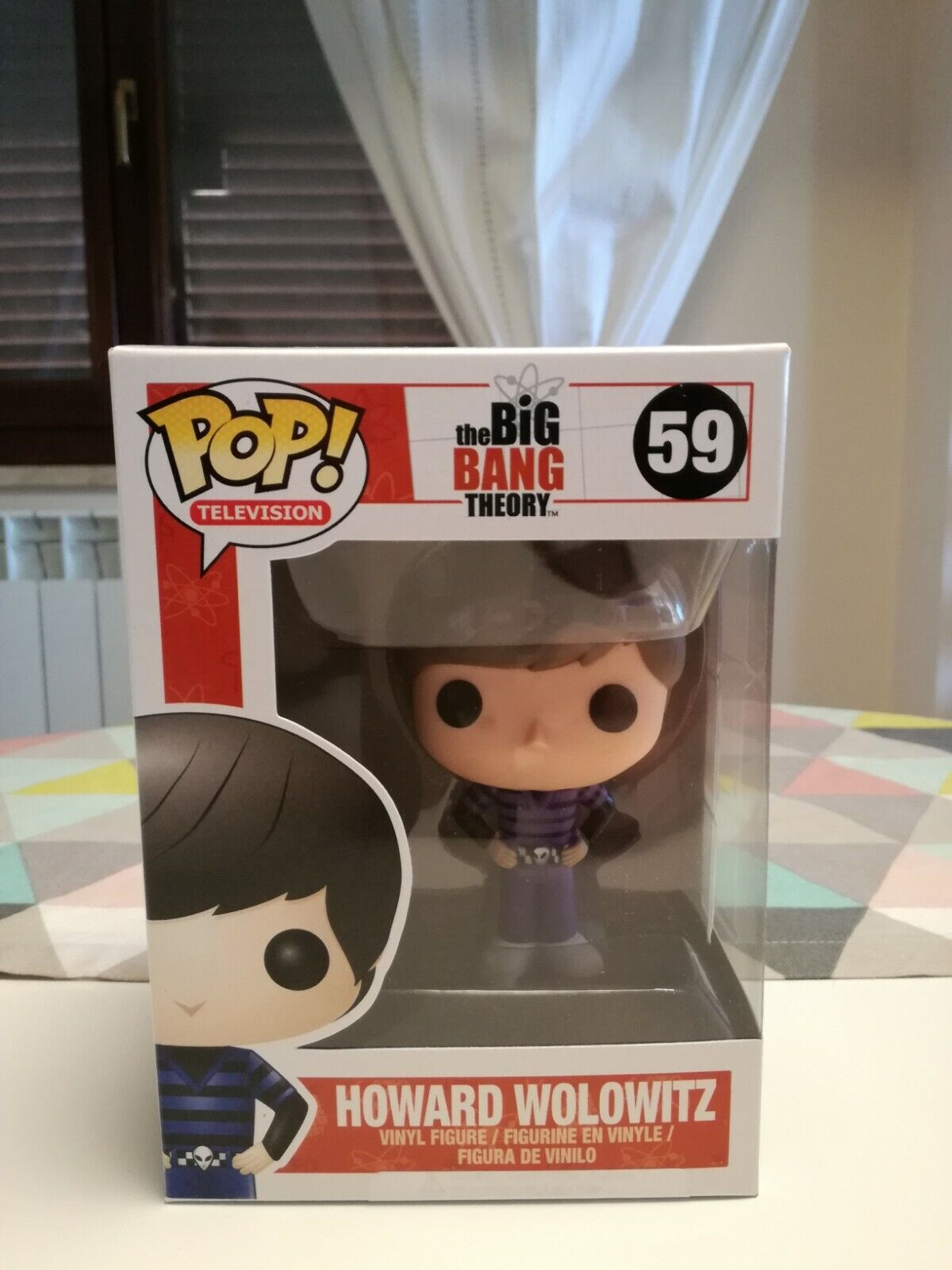 Funko Pop  VAULTED Big Bang Theory - Howard Wolowitz (Inclusa Pop  Projoector)