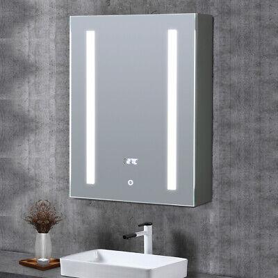 Led Light Up Bathroom Mirror Cabinet, Light Up Bathroom Mirror Cupboard