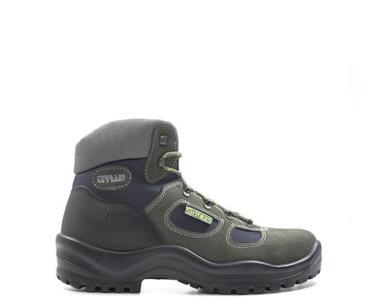 Schuhe grauPORT Mann grau Naturleder,Stoff GRI626 167.01