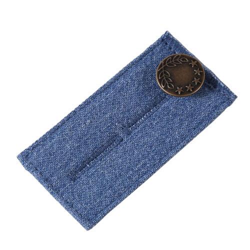 3PCS Waist Band Pants Extender Belt Jeans Skirt Maternity Button Hooks Fashion