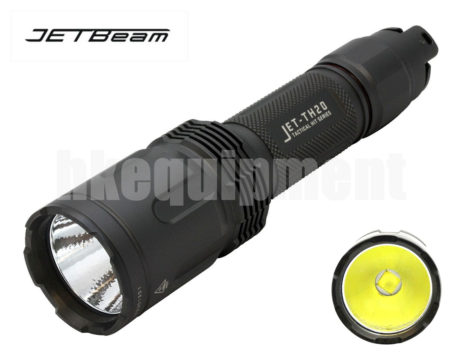 JETBeam TH20 Cree XHP70.2 3450lm 18650 Flashlight