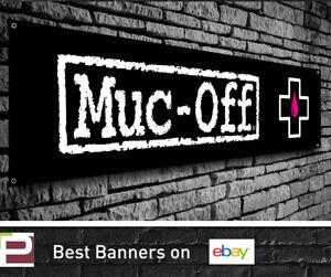 Muc Off PVC Vinyl Banner - Garage, Workshop, Cleaner, Lubricant, Degreaser Sign