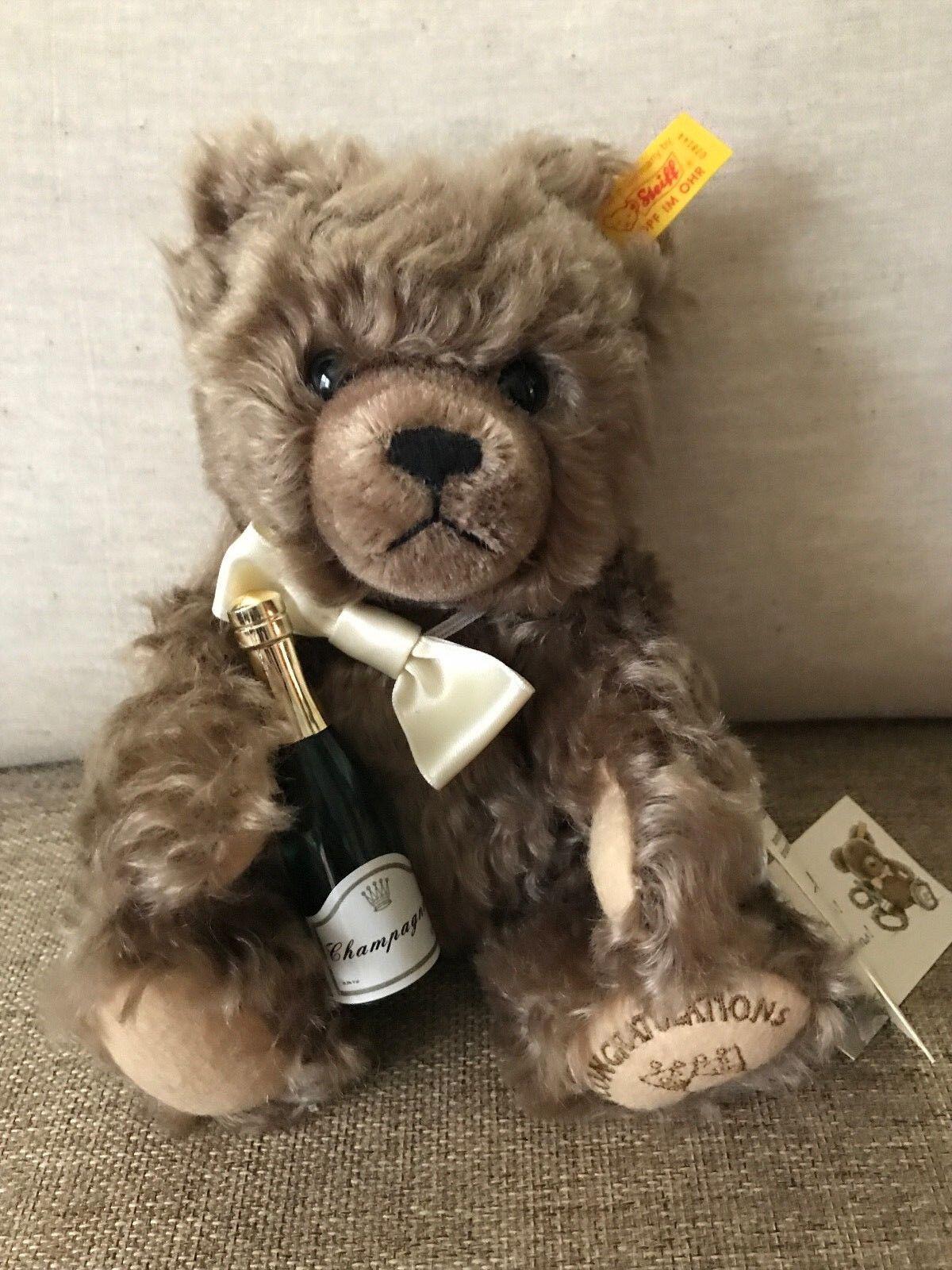 Steiff  028144 Congratulations Teddy Bear NWT