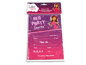 Pack-of-10-Hens-Night-Party-Invitations-with-10-White-Envelopes-included