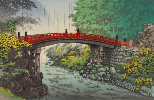 Ukiyoe Japanese Paint Landscape Art Silk Canvas Poster Wall Decor Unframed S387