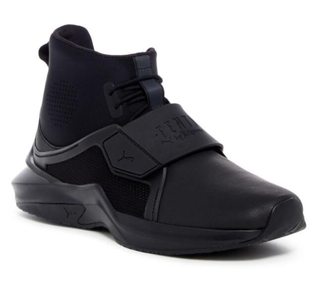 946e10dbe6c Fenty PUMA by Rihanna Black Hi Trainer Sneaker Size 9.5 for sale ...