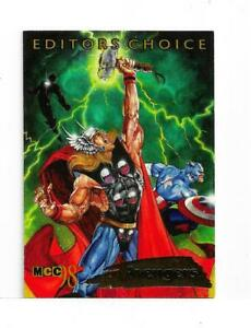 MARVEL CREATORS COLLECTION 98 EDITORS CHOICE CARD 1 OF 12
