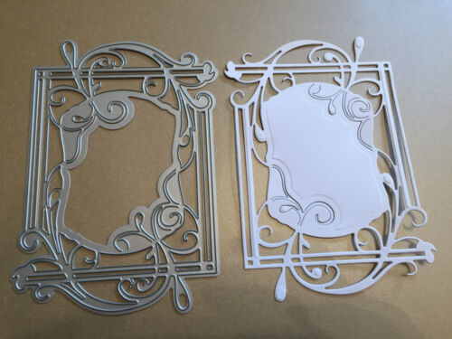 Tonic FLORE CADRE//Topper Cutting /& Embossing Die Lot 2 NEUF PRIX BAS!!!