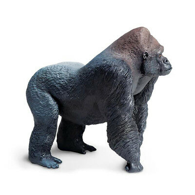 Wildlife Wonders Silverback Gorilla  Safari Ltd Animal Educational Toy Figure