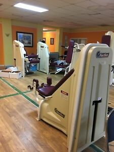 gym equipment nautilus physical therapy business moving