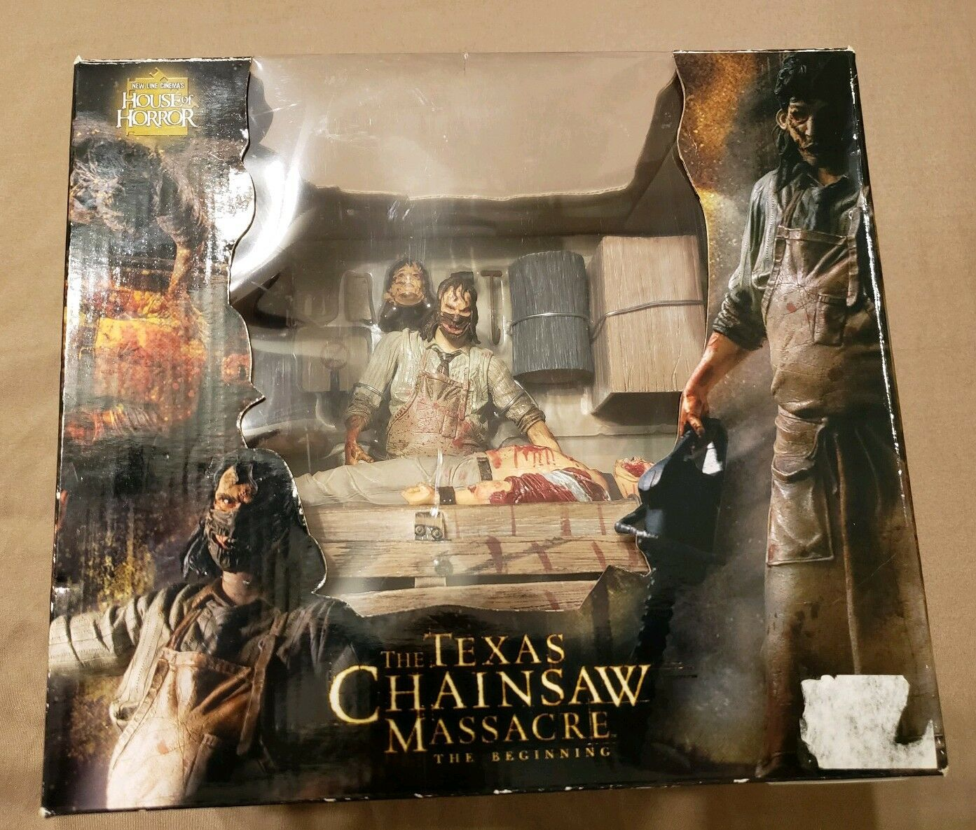 2006 NECA Texas Chainsaw Massacre The Beginning Action Figure House of Horror