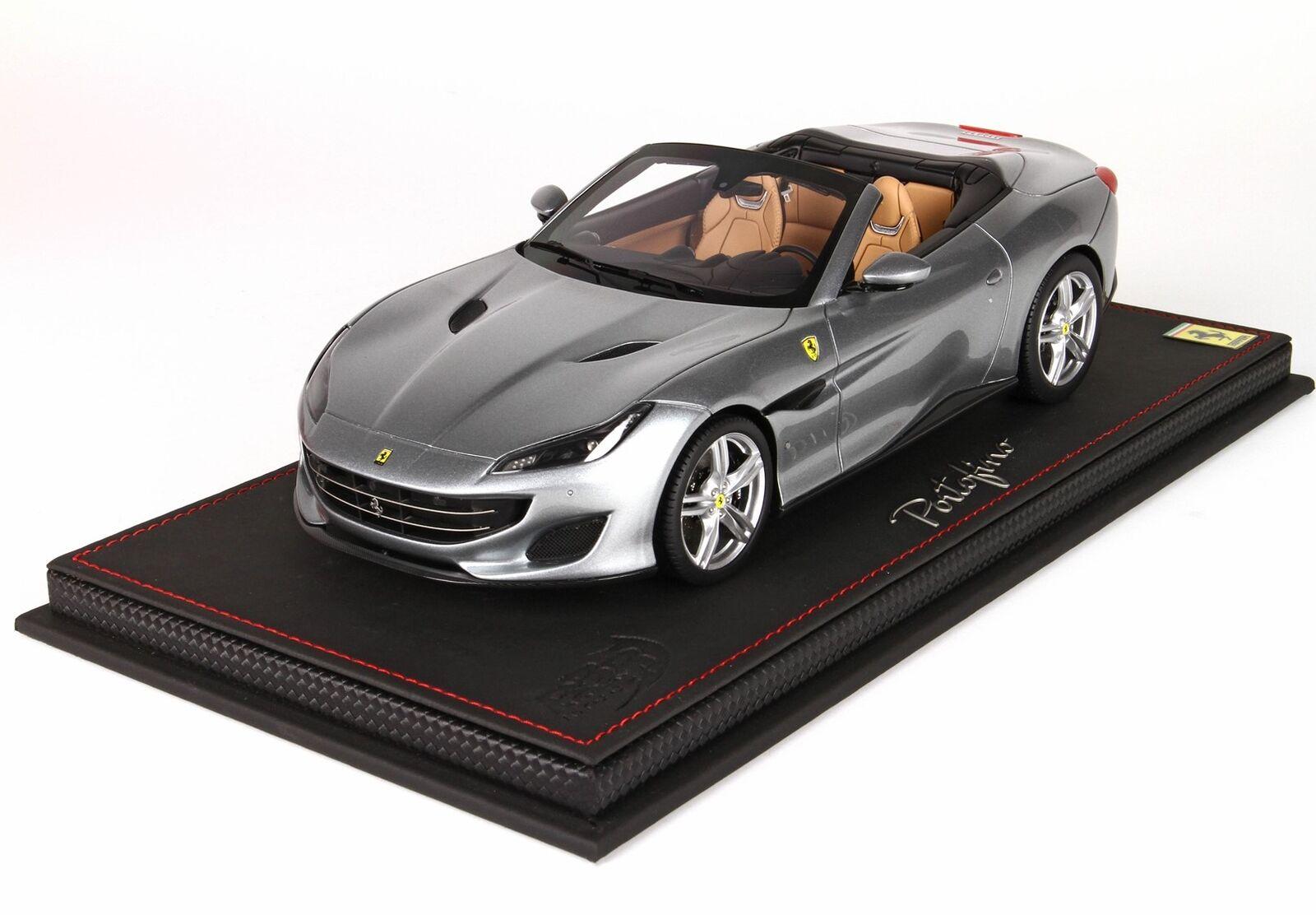 Ferrari Portofino Spider Version Titanium Grey Lim. Ed. 14 Pcs BBR 1 18 P18155GT
