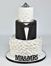 FMM curved words MR & MRS Cutter Sugarcraft Cake Decorating   Fast Despatch