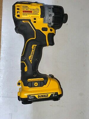 "New Dewalt Xtreme DCF601B 12V Max 1//4/"" Hex Brushless ScrewDriver Bare Tool"