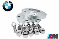 2pc 5x120 Wheel Spacer Kit 15mm Thick With Extended Bolts Fits BMW With 12x1.5