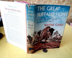THE-GREAT-BUFFALO-HUNT-1960-Wayne-Gard-Illust-DJ