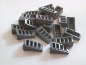 Lego 61409# 20x Dachstein oblique Pierre 2x1x2/3 Gris Nouveau Gris Foncé 8034 7869  </span>