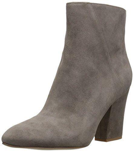 Nine West savitra gris 6 M Gamuza Tobillo botas Botines Botines Botines Zapatos De Tacón Bloque De Moda De Moda 93c58c