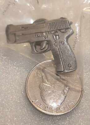 2 ~ Glock .40 Hand Gun Pistol Firearms Lapel//Hat Pin Tie Tacks