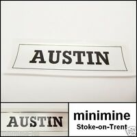 Classic Mini Austin Rocker Cover Sticker a-series a+ mg 998 1275 cooper van bmc