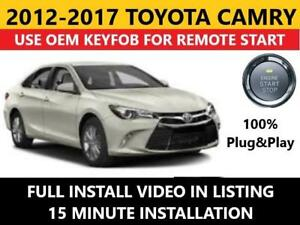 toyota camry pts plug \u0026 play remote start complete kit 2012 2017 ebayimage is loading toyota camry pts plug amp play remote start