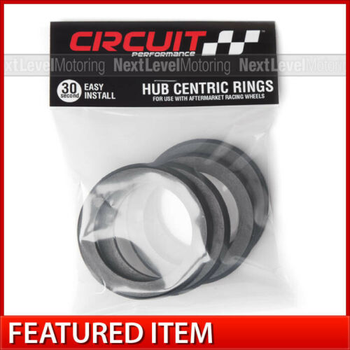 54.1 Plastic Hub Centric Rings Set of 4 Fits Toyota Circuit Performance 73.1