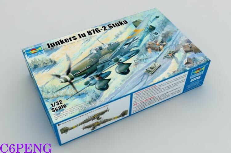 Trumpeter 03218 1 32 Junkers Ju87G-2 Stuka hot