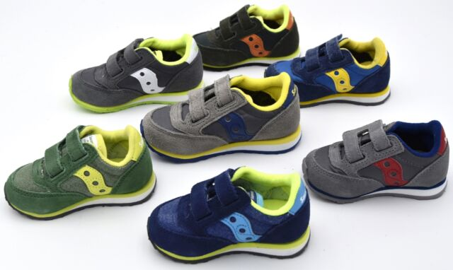 SAUCONY JUNIOR BABY BOY SNEAKER SHOES CASUAL FREE TIME SUEDE CODE BABY JAZZ HL