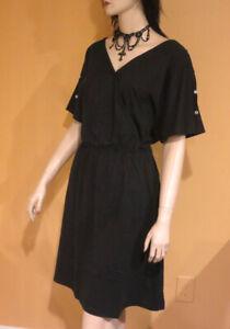 Black Swimsuit Cover Up Dress Swim Wear Slit Sleeve Bathing Suit 3x Plus Size 2x Ebay