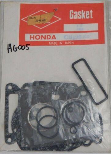 Genuine Honda CB125 CB 125 K5 Top End Cylinder Gasket Set Kit OEM 06110-324-000