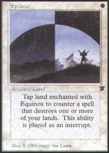 1x Equinox MTG Legends NM Magic Regular
