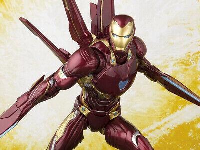 Bandai S.H.Figuarts Avengers Infinity War Iron Man Mark 50 JAPAN OFFICIAL IMPORT