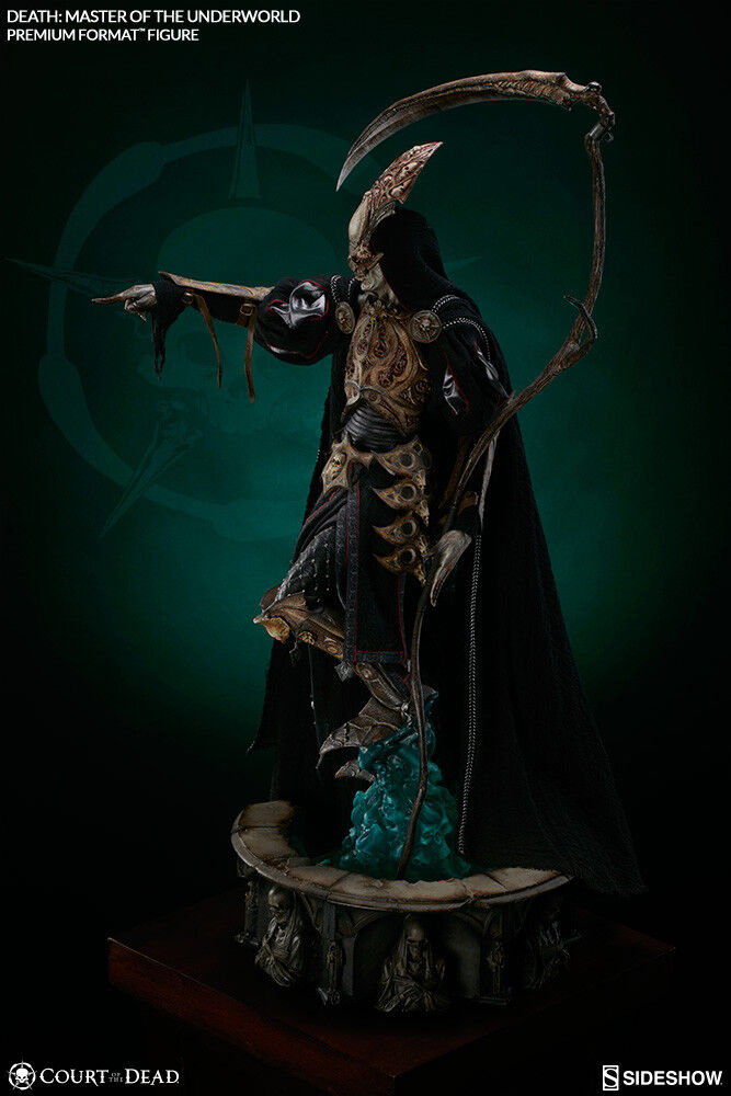 Court of the Dead Death Master Of The Underworld Premium Format Figure Statue