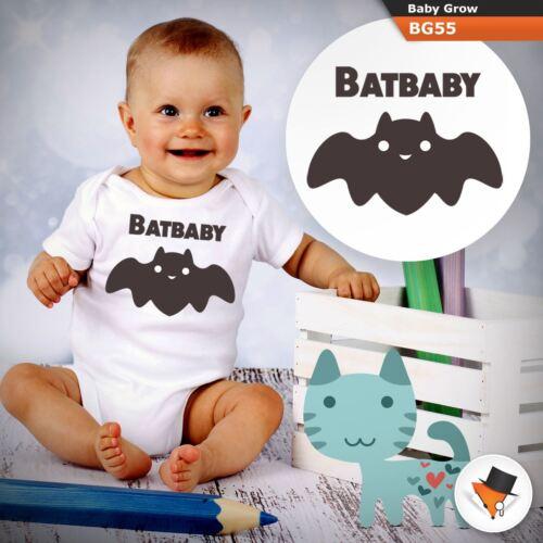 BATBABY FUNNY CUTE BATMAN DC BABYGROW BABY GROW  ALL SIZES Unisex 1 ^