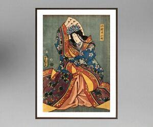 UTAGAWA-KUNISADA-1786-1865-ANCIENNE-ESTAMPE-JAPONAISE-11