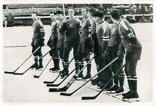 37. Ice hockey Team of USA WINTER OLYMPICS OLYMPIC GAMES 1936 CARD
