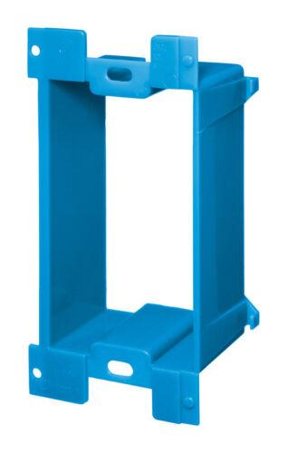 Carlon  10 in H Rectangle  2 Gang  Electrical Box Extender  Blue  PVC