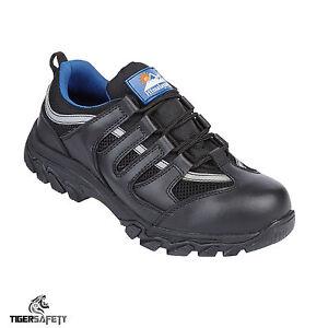 Himalayan Puntera Zapatillas 3420 Acero Src De Protección Negro Cuero S1p qZaSqU