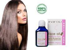 Natural & Puro Aceite de cara Anti Edad Anti Arrugas Piel Sensible Rosa de Bulgaria:)