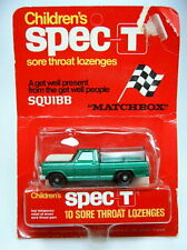 """Matchbox RW 50C Kennel Truck d'grün in rarer """"Spec-T"""" Werbepackung"""