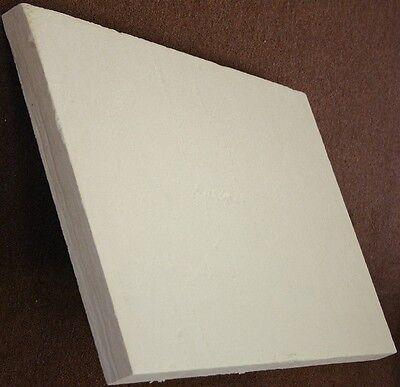 """Ceramic fiber board (2300°F), 900 mm x 600 mm x 25 mm (1""""), Free Shipping"""