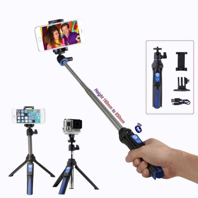 Benro Bluetooth Mini Tripod/Selfie Stick BK10 Camera GoPro Phone (UK Stock) BNIB