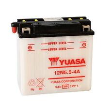 BATTERIA YUASA 12N5.5-4A, 5,5AH, POSITIVO SX, 135X60X130MM CODICE 0650636